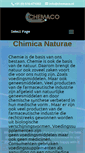 Mobile Preview of chemaco.nl